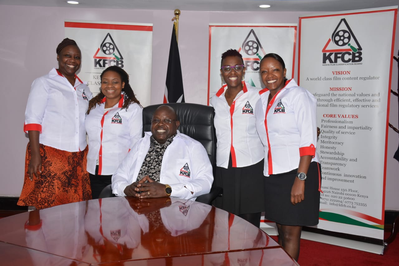 The Board of Directors led by Chairman, Bishop Jackson Kosgei all branded